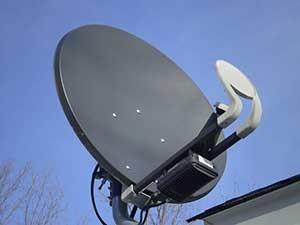 orientar antena para ver la television